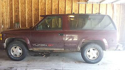 GMC : Yukon GT 1994 gmc yukon needs rear differential work