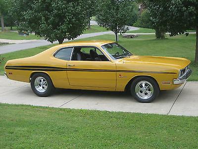 Dodge : Dart demon 1971 dodge demon 340 h code factory a c car bucket seats console