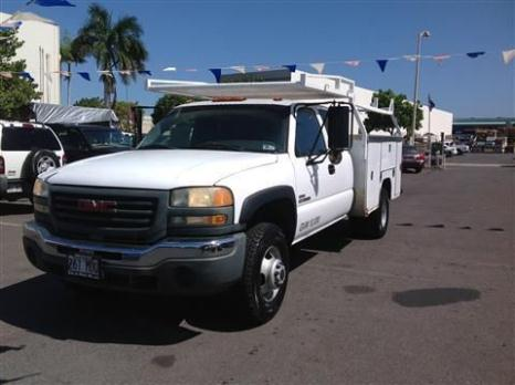 2005 GMC Sierra 3500 Extended Cab & Chassis Cab & Chassis