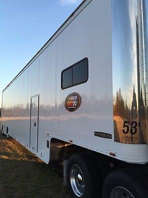 2001 53' Featherlite race trailer.