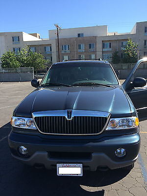 Lincoln : Navigator Luxury Sport Utility 4-Door 2001 lincoln navigator low miles fully loaded tow package navigation