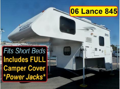 2009 Lance 845 - Short Bed - Camper Cover
