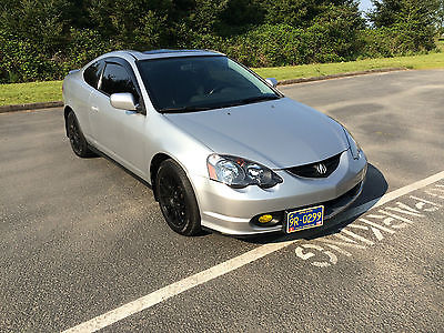 Acura : RSX Sport coupe 2004 acura rsx 6 speed fully loaded low miles look