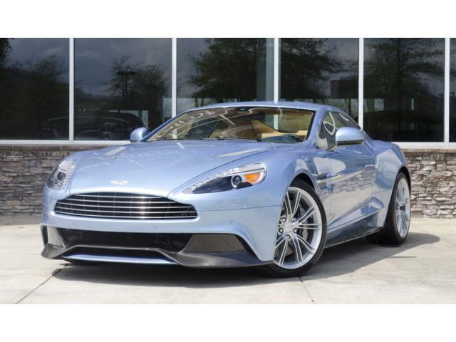 Aston Martin : Vanquish 2dr Cpe 2014 aston martin vanquish rare silverlake blue low miles