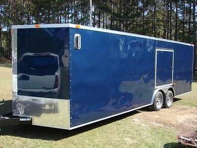 NEW 2016 SUPER SPORT SERIES 8.5x24 Auto Hauler Cargo Trailer V Nose Ramp CUSTOM