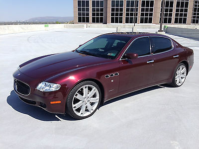 Maserati : Quattroporte Sport GT Sedan 4-Door 2007 maserati quattroporte sport gt dealer serviced records automatic