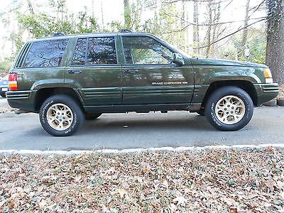 Jeep : Grand Cherokee Limited Sport Utility 4-Door 1996 jeep grand cherokee limited sport utility 4 door 4.0 l one owner