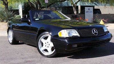 Mercedes-Benz : SL-Class SL500 1998 mercedes sl 500 2 tops dealer serviced amg wheels starmark car 29 k mile