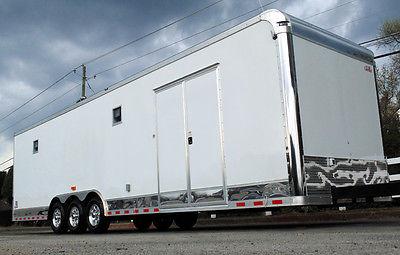 2015 8.5x32 Cargo Mate Enclosed Race Car Trailer Hauler Loaded