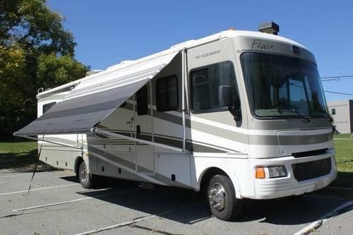 2006 Fleetwood Flair 33R 35ft Class A Motorhome One Owner Low Miles