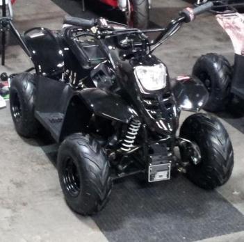 ATV Black 110cc