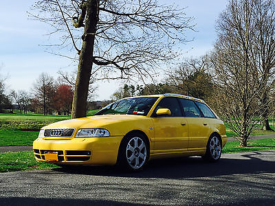 Audi : S4 WAGON Audi S4 Avant with RS4 and Euro parts!! IMOLA YELLOW