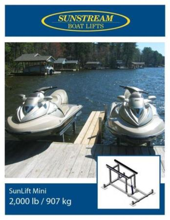 Hydraulic Boat Lift by Sunstream for sale
