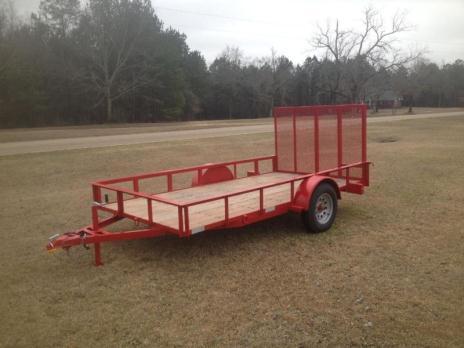6x12 utility trailer brand new
