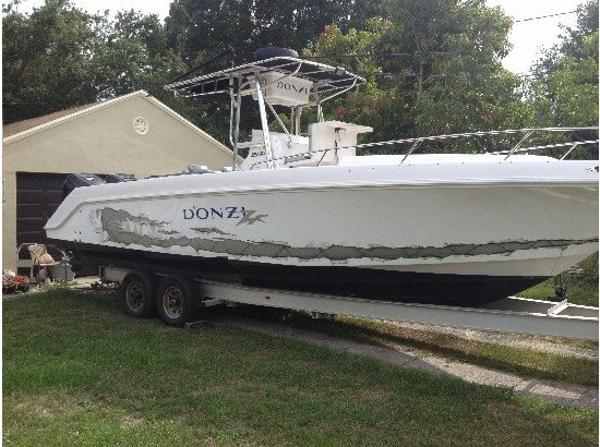 2003 Donzi 29 ZFC CABIN FORWARD
