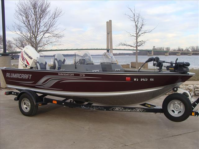 2013 Alumacraft Navigator Series 175 CS