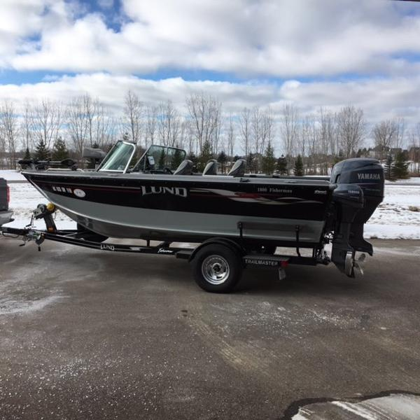 Lund Fisherman Boats For Sale In Michigan