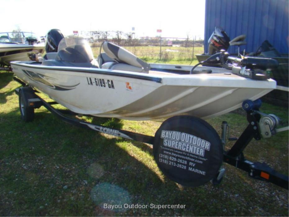 2013 LOWE Stinger ST 175 (Bright White-w/Mercury 60HP ELPT EFI 4