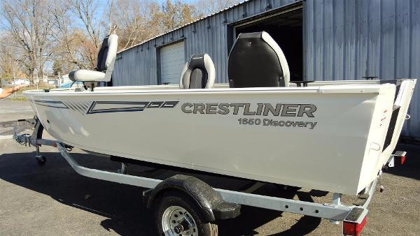 2016 Crestliner 1650 Discovery Tiller