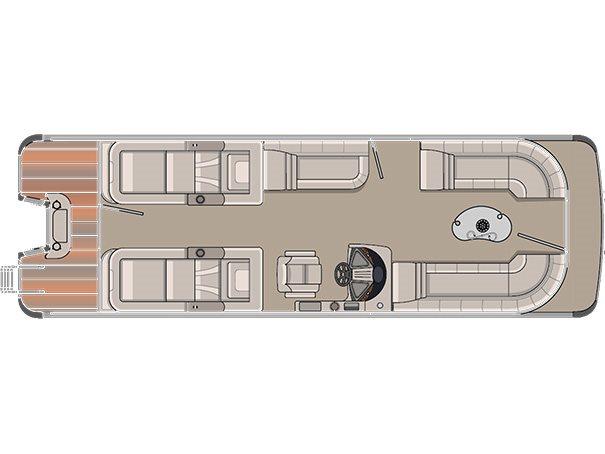 2016 Avalon Windjammer Rear Lounge - 27 ft. Length Class