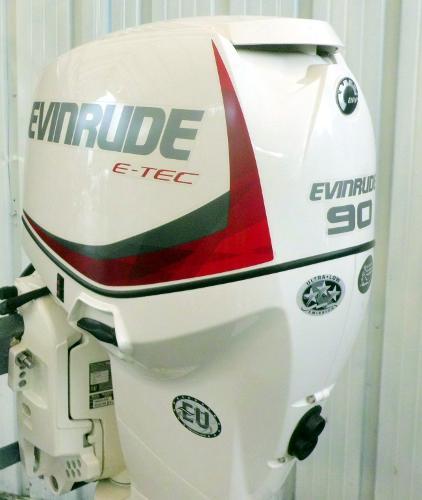 2015 Evinrude E-TEC 90hp 20