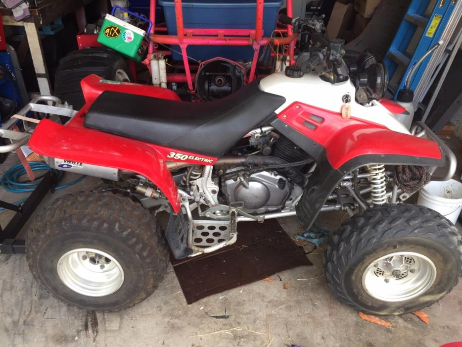 1998 Yamaha Warrior 350