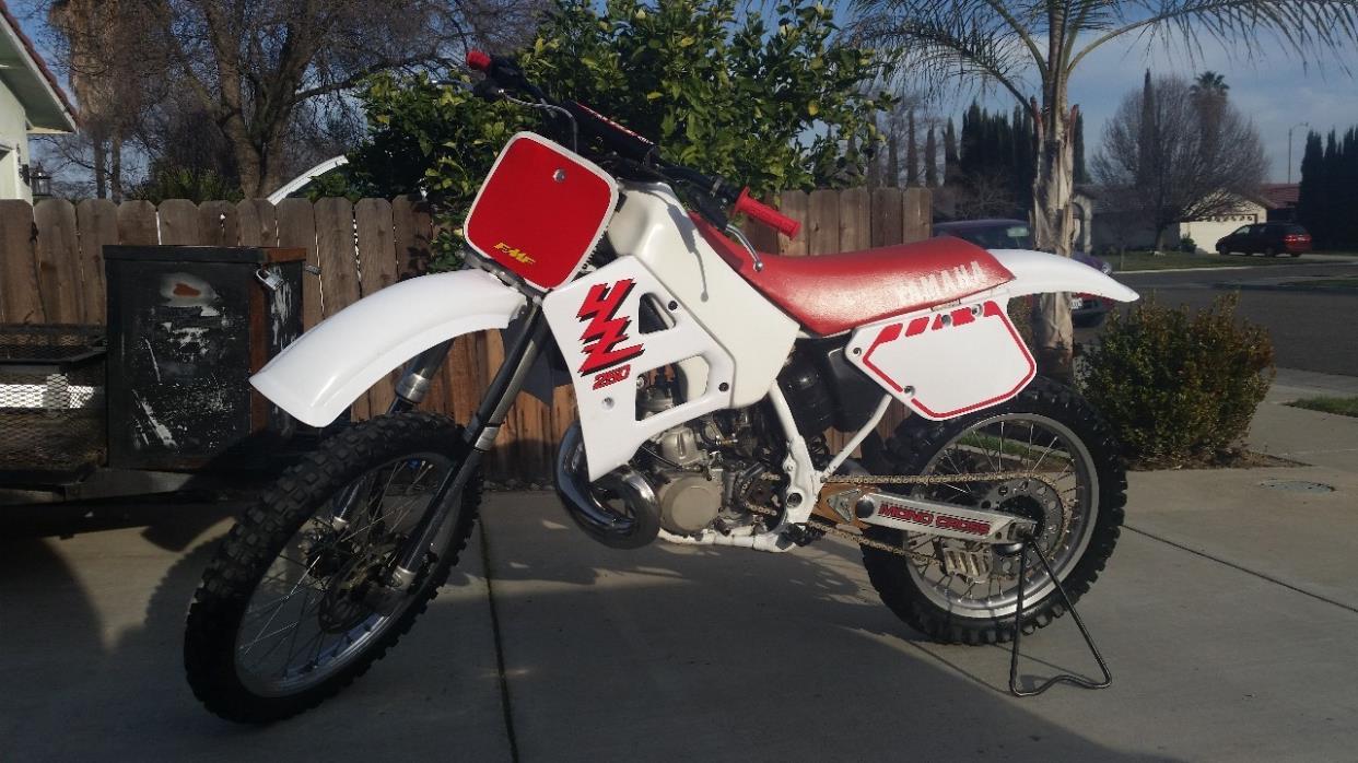 1989 Yamaha YZ 250