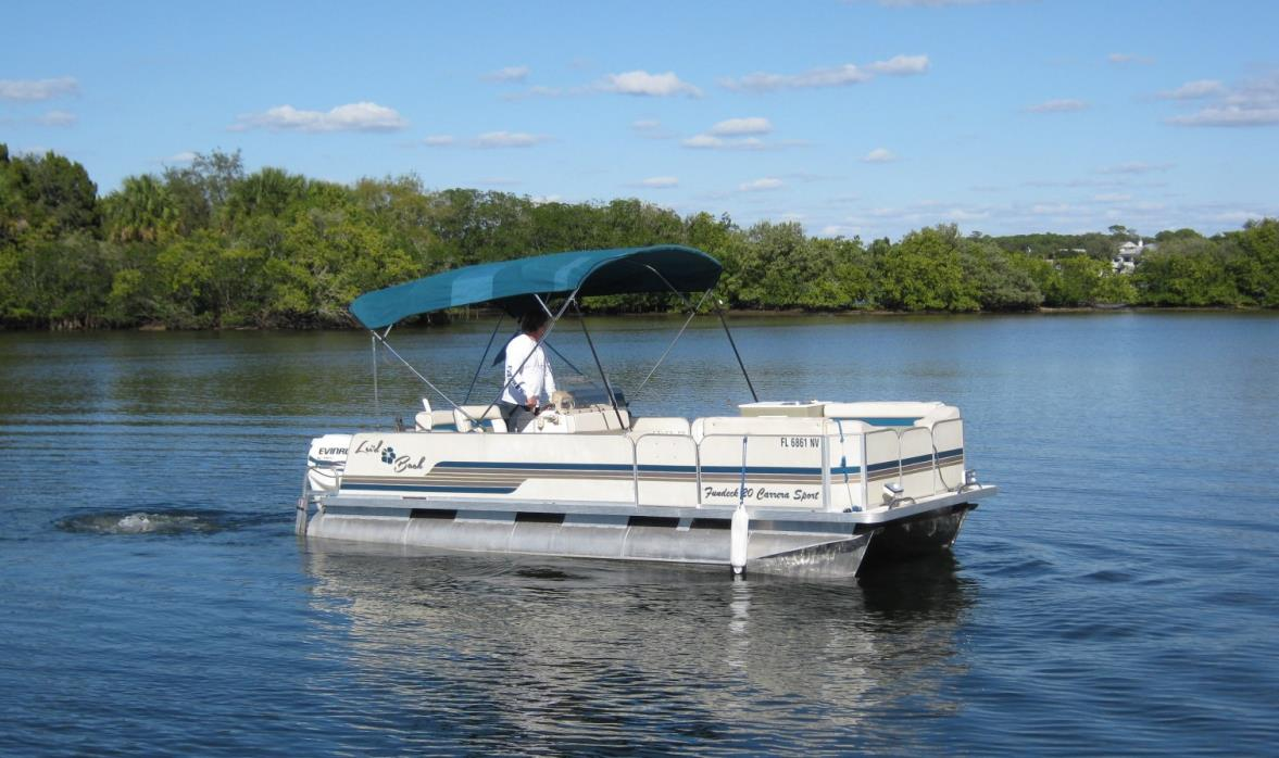 2009 Fiesta Boats Fun Deck Carrera Sport