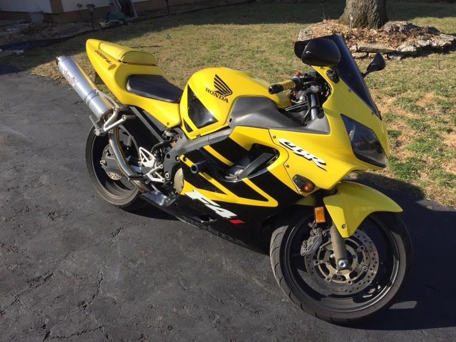 2002 Honda CBR 600F4I1