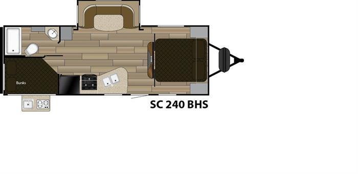 2018 Cruiser Rv Shadow Cruiser 240BHS