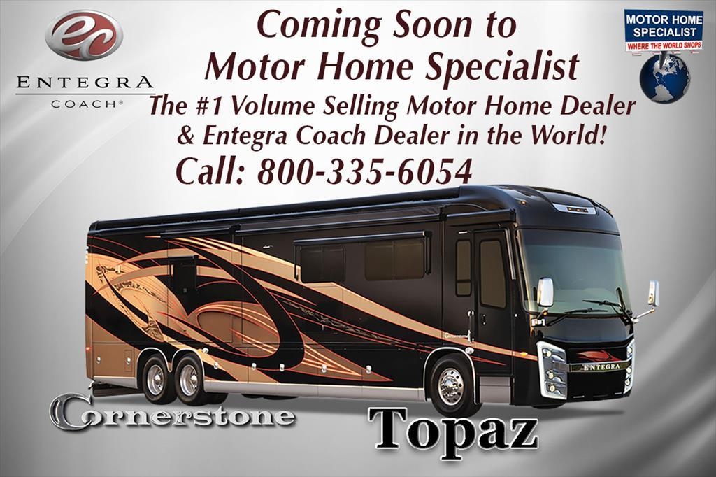 2017 Entegra Coach Cornerstone 45B Bath & 1/2 Luxury RV for Sale at MHSRV