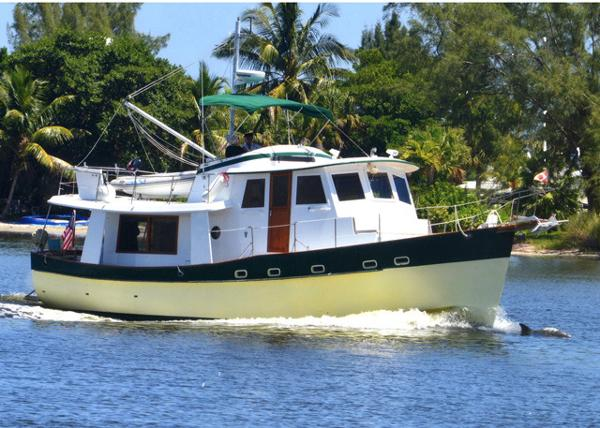 1981 Kadey Krogen 42 trawler