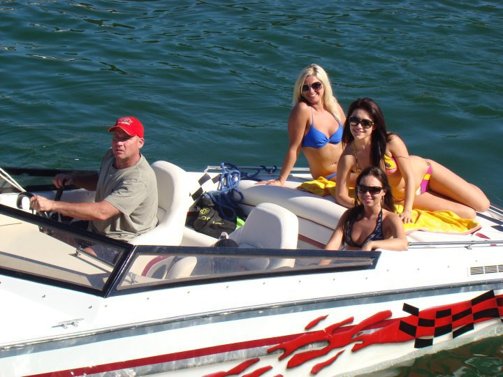 1988 Python Racing Boat