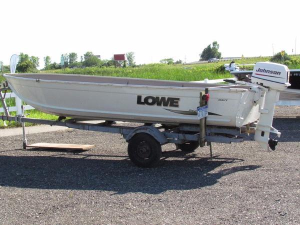 2008 Lowe 1667T Sea Nymph