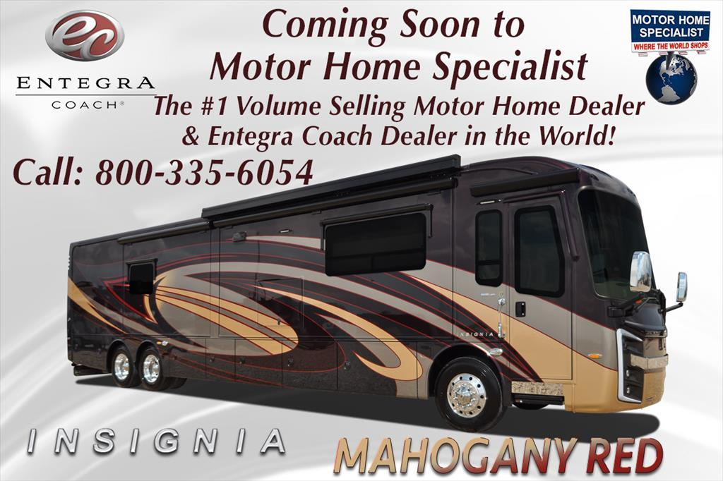2017 Entegra Coach Insignia 44B Bath & 1/2 Luxury Coach for Sale @ MHSRV W