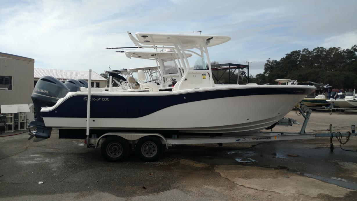 2014 Sea Fox 246 Commander