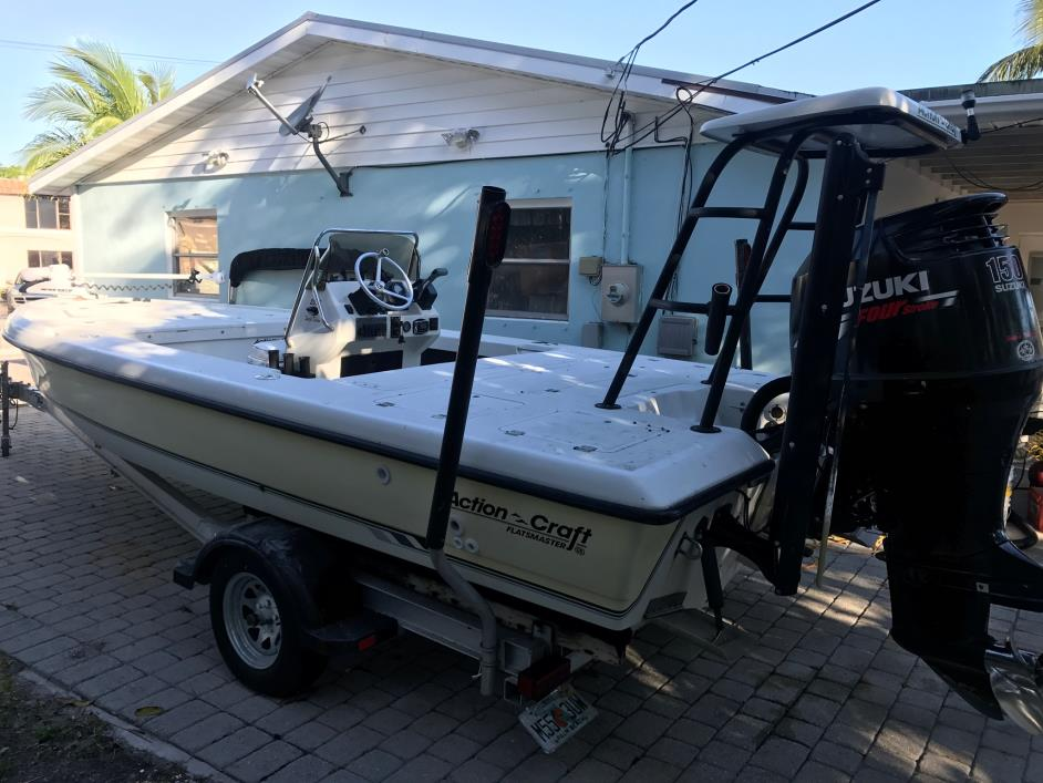 Action craft 2020 flatsmaster boats for sale in florida for Action craft boat parts