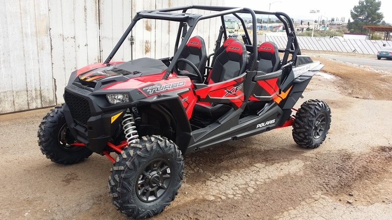 2017 Polaris RZR XP 4 Turbo EPS Cruiser Black