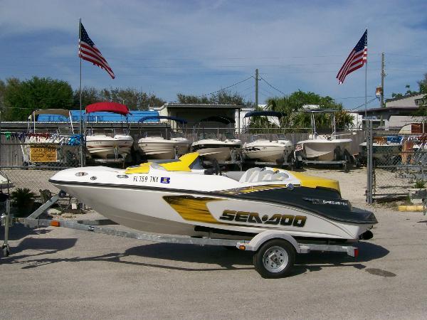 2008 Sea-Doo Sport Boats Speedster 150