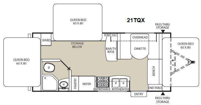 2013 Coachmen Rv Freedom Express LTZ 21TQX