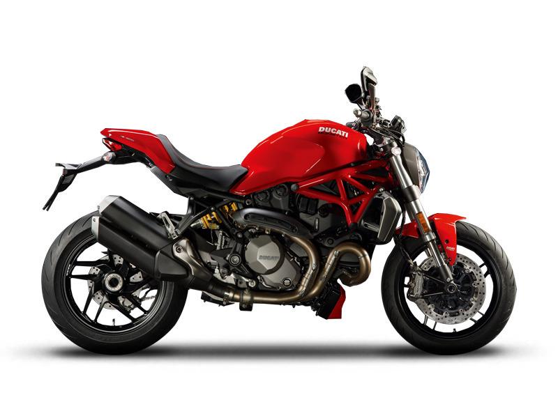2017 Ducati Monster 1200 Ducati Red