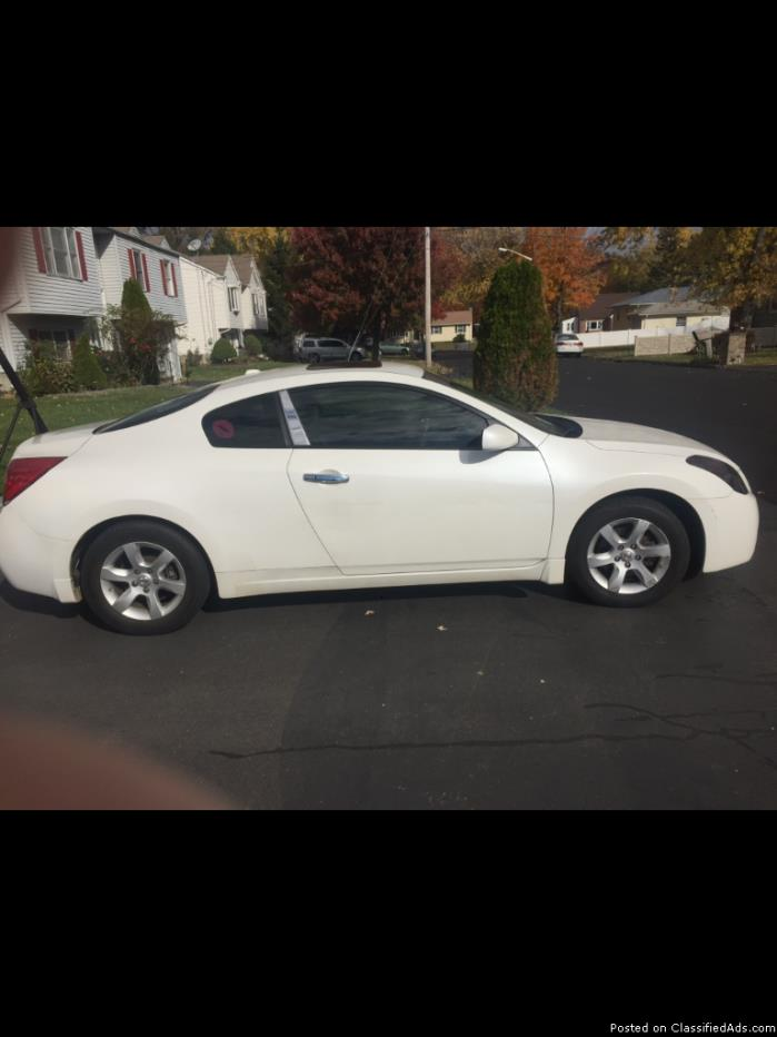 nissan altima coupe 2008 vehicles for sale. Black Bedroom Furniture Sets. Home Design Ideas
