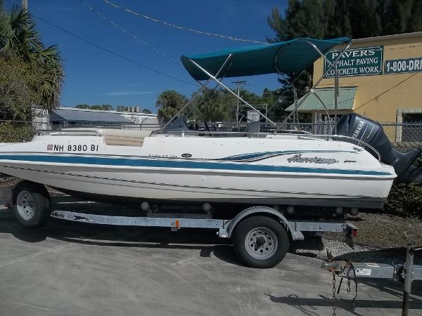 2003 Hurricane 201 FUNDECK / DECK GS201