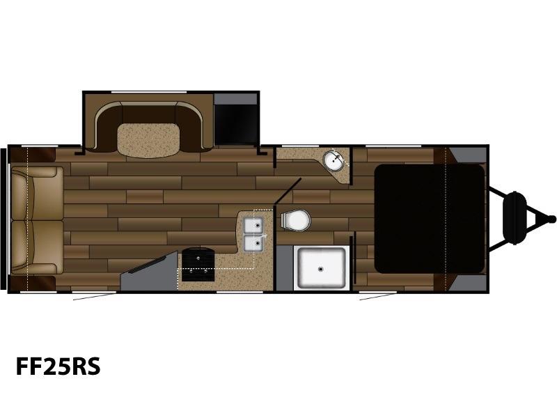2018 Cruiser Rv Fun Finder Extreme Lite FF25RS