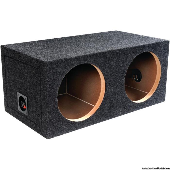 Atrend Bbox Series Dual Sealed Bass Box 10