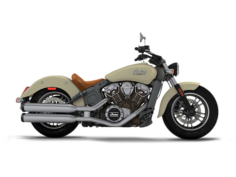 2017 Indian Scout Ivory Cream