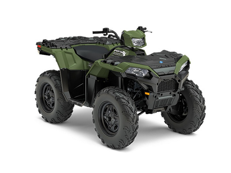 2017 Polaris Sportsman 850 Sage Green