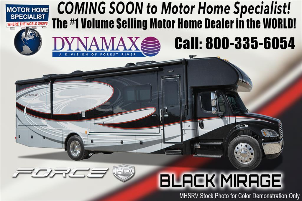 2018 Dynamax Corp Force HD 37TS Super C for Sale at MHSRV W/Solar and W/D
