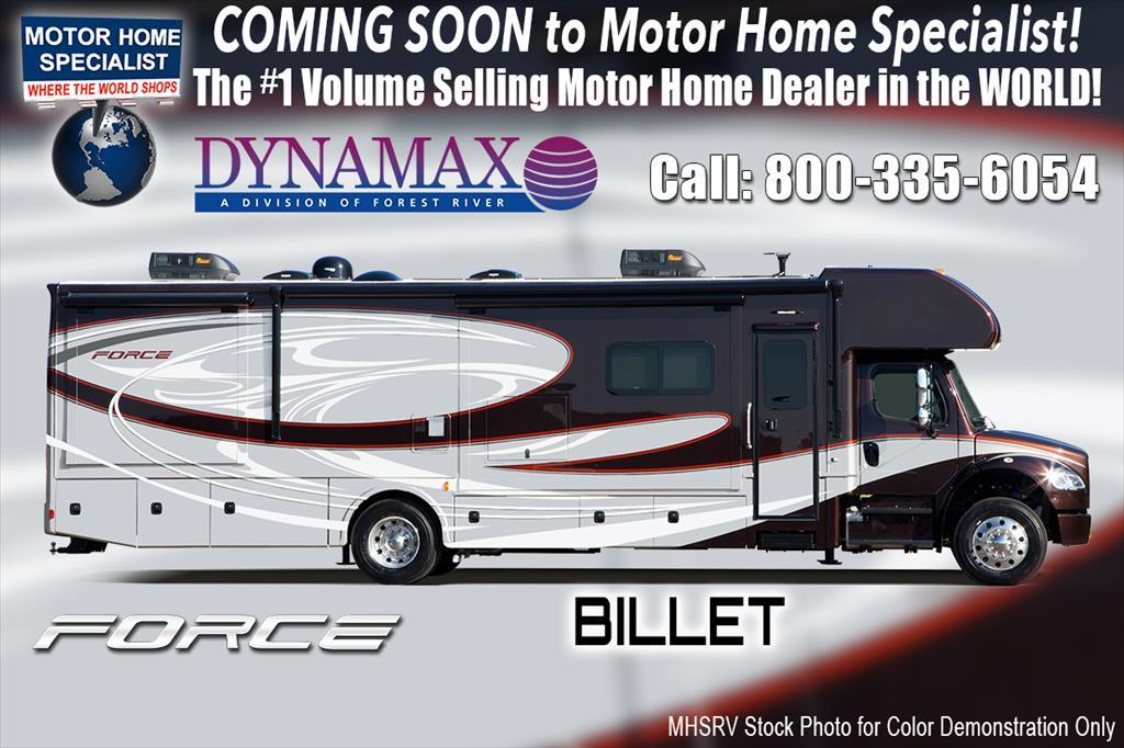 2018 Dynamax Corp Force 35DS Super C RV for Sale at MHSRV W/King & Solar