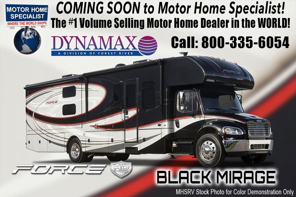 2018 Dynamax Corp Force HD 37BH Super C for Sale at MHSRV W/Bunk & Solar